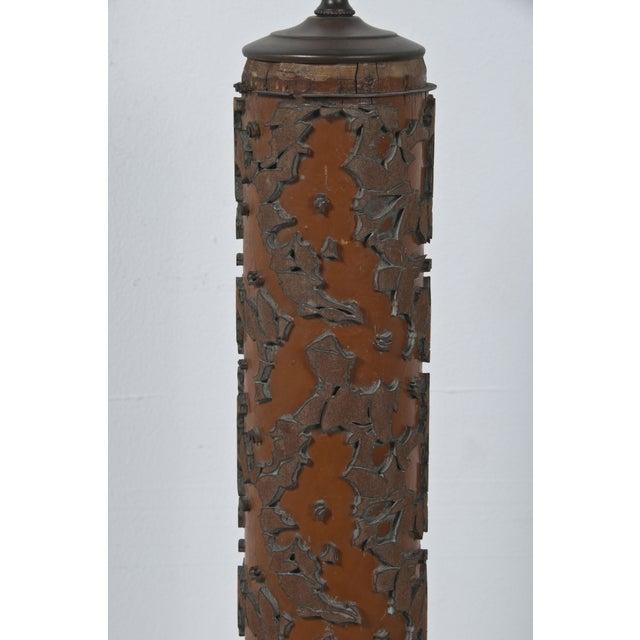 Image of Wallpaper Roll Lamp III
