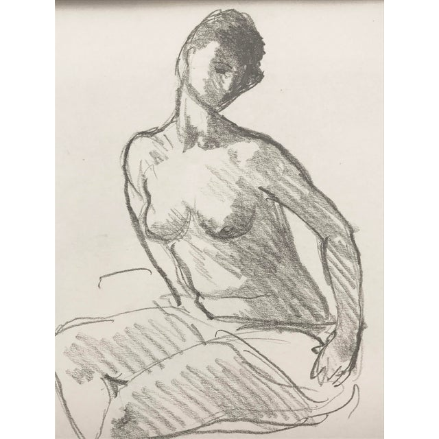 Vintage Figure Drawing by Rene Marcil - Image 4 of 6