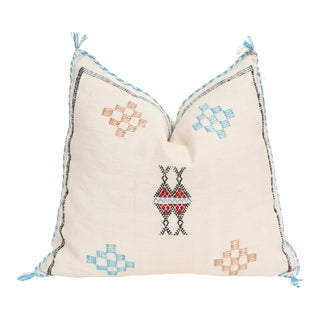Moroccan Sabra Cactus Silk Pillow