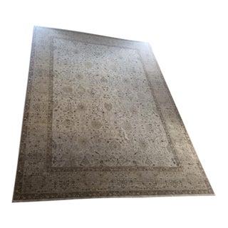 "Traditional Handmade Wool Rug - 9' x 12'2"""