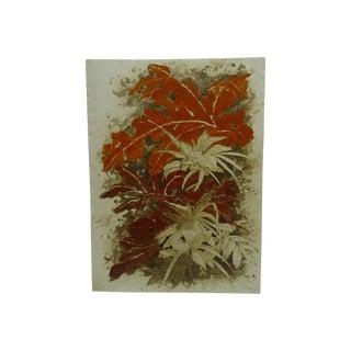"""Autumn"" Modern Signed Print"