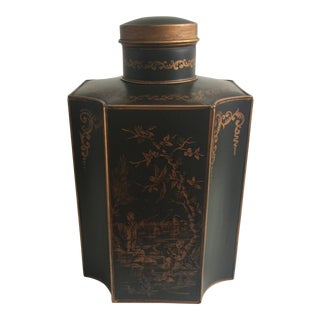 French Chinoiserie Tea Caddy