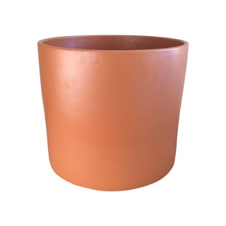 Vintage Orange Gainey Pottery Planter