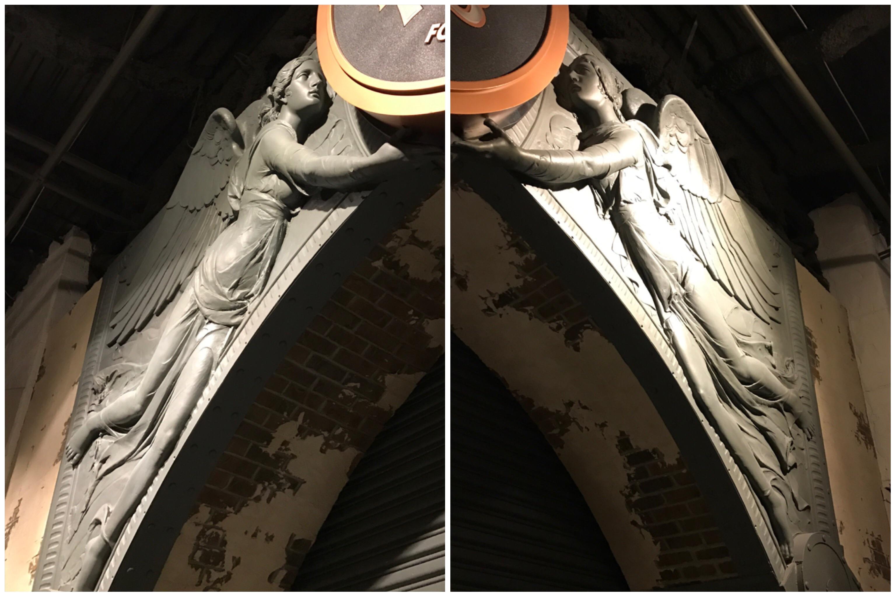 Bronze Angels Architectural Salvage Pair Chairish