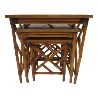 Fretwork Nesting Tables - S/3