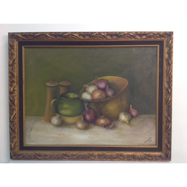 Still Life Oil Painting on Canvas - Image 3 of 7