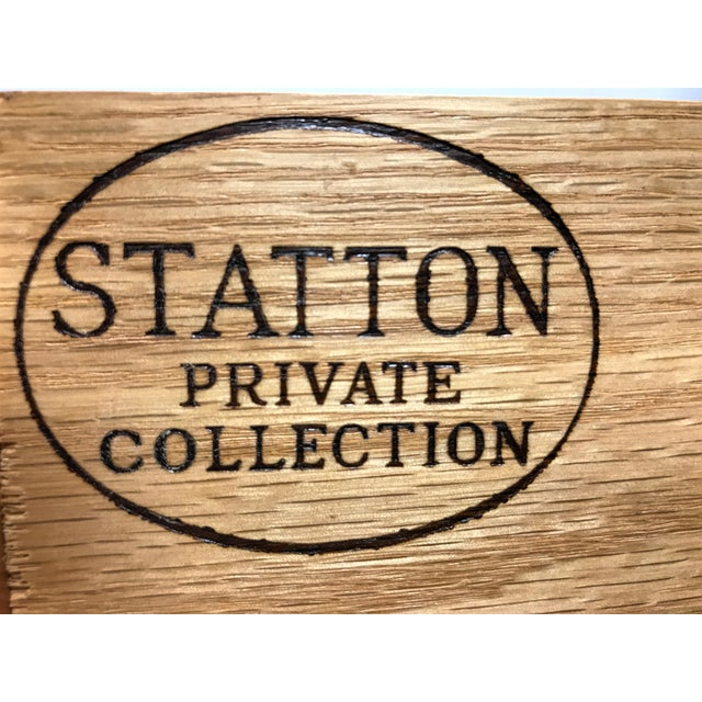 Statton Private Collection Solid Cherry Salem High Chest - Image 7 of 11