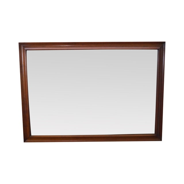 Image of Stickley Solid Cherry Rectangular Frame Mirror
