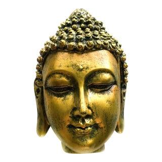 Antiqued Golden Finish Buddha Box