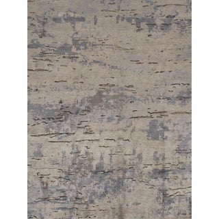 Contemporary Hand Knotted Rug - 8'11 X 11'9