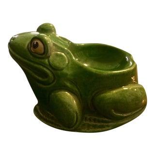 Mid-Century Italian Terracotta Frog Catchall