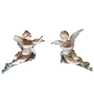 Pair of American Putti