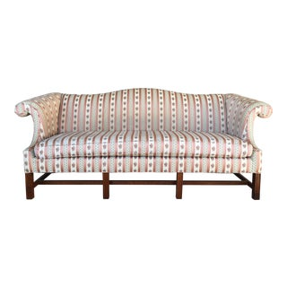 Temple Furniture Chippendale Style Camel Back Sofa
