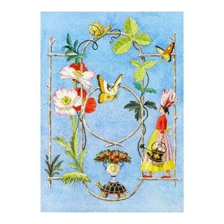 """""""Rustic Garden Fantasy"""" Giclée Print"""