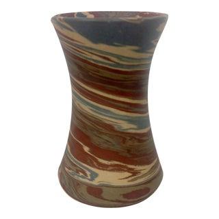 Niloak Mission Swirl Corseted Vase