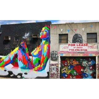 Contemporary Original Brooklyn, NY Street Art Photo