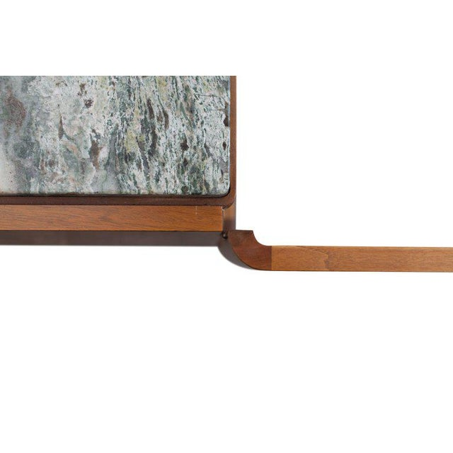 Walnut and Marble Credenza by Jos De Mey - Image 3 of 11