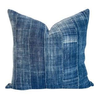 Vintage Mossi Indigo & Linen Pillow