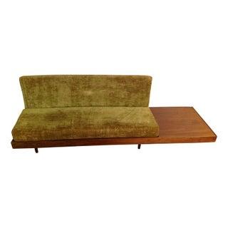 Mid-Century Modern Green Sofa & Table Combo