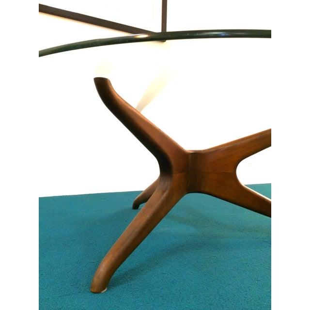 Image of Vladimir Kagan Biomorphic Walnut Coffee Table