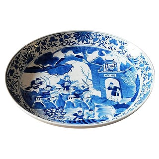 Blue & White Medallion Plate