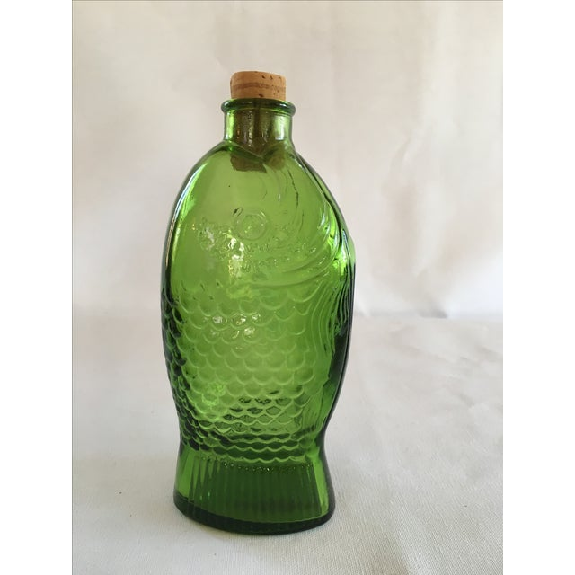 Image of Green Dr. Fisch's Bitters Bottle, Reproduction