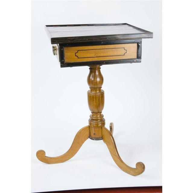 19th Century Italian Walnut Game Table - Image 3 of 9