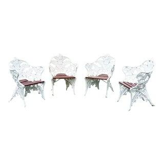 Fern Pattern Garden Chairs