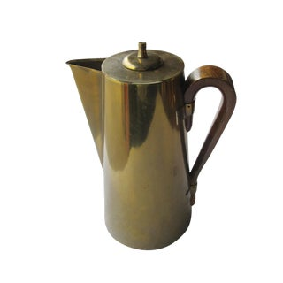 Mid-Century Tommi Parzinger for Dorlyn Silversmiths Coffee Pot