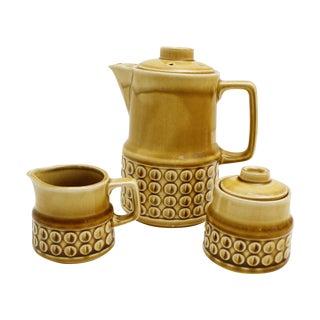 Mid-Century Ceramic Japanese Tea/Coffee Set - S/3