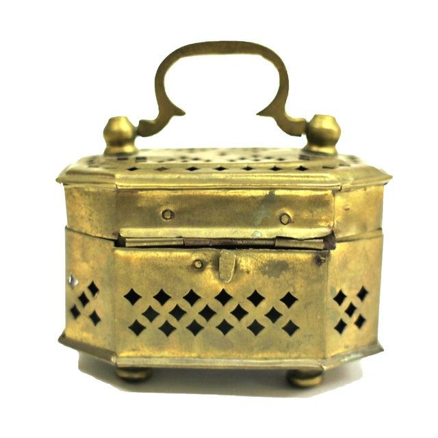 Vintage Brass Cricket Box - Image 2 of 3