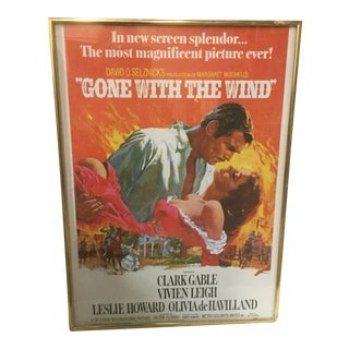 "Vintage ""Gone With the Wind"" Movie Poster"