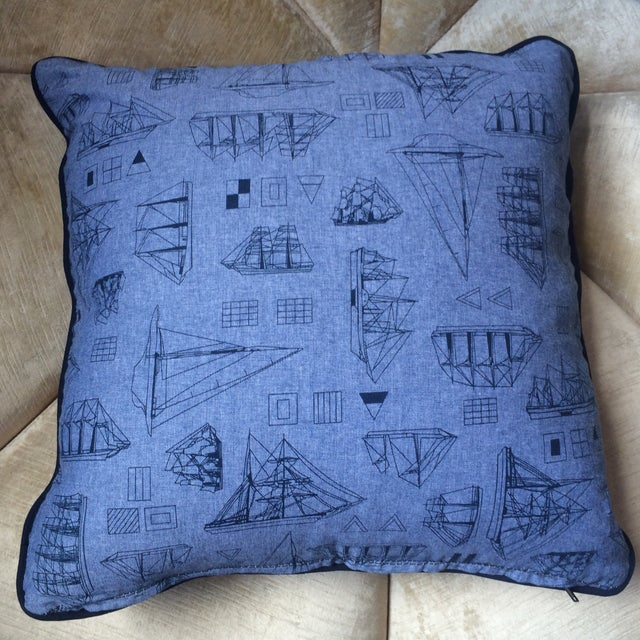 Set of Three Nautical Pillows - Image 3 of 8