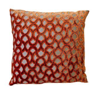 Large Orange Cowtan Tout Astrid Pillow