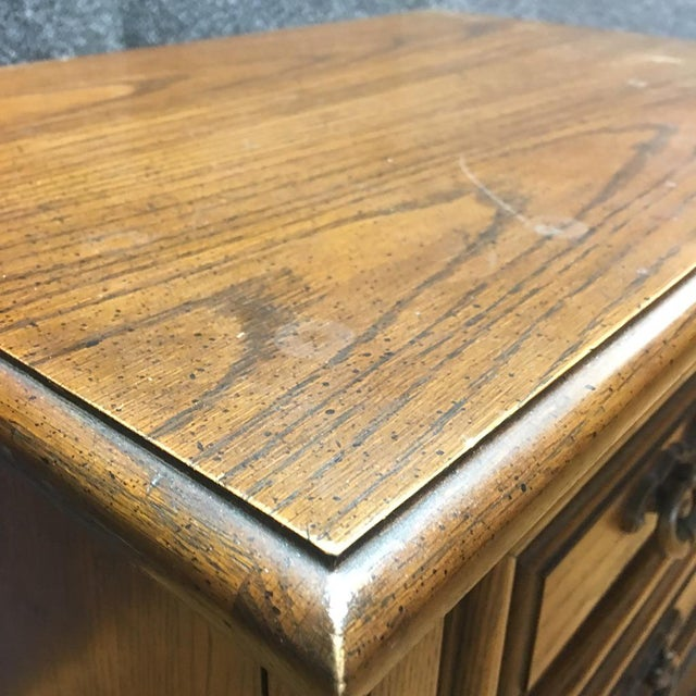 Thomasville Mid-Century Wooden Nightstands- A Pair - Image 7 of 9