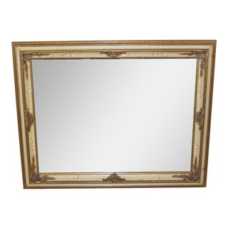 Antique FrenchCarved Gilt Mirror