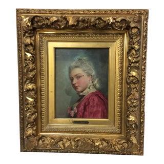Gustave Jean Jacquet Portrait of a Lady