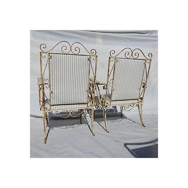 French Style Veranda Chairs - Pair - Image 7 of 7