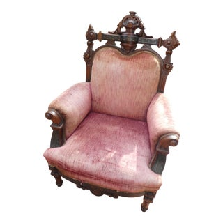 Renaissance Revival Chair With Marquetry