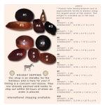 Image of Antique Primitive Wooden Dough Bowls - Set of 10