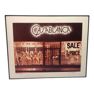 Vintage Casablanca Photograph