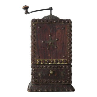 Folk Art Coffee Grinder