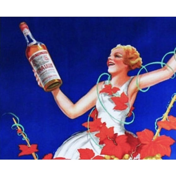 Kina Lillet Vintage Authentic French Poster Framed - Image 2 of 2
