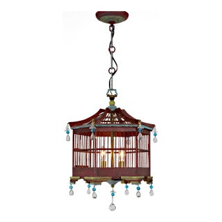 Asian Style Wooden Lantern