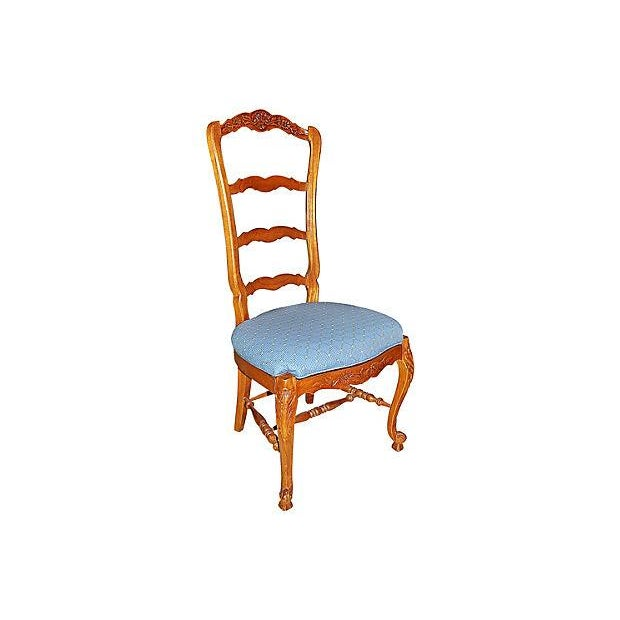 Country French Ladderback Chairs Set Of 4 Chairish