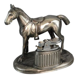 Equestrian Horse Table Lighter