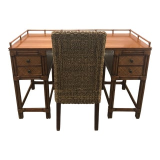 Tommy Bahama Desk & Chair - A Pair