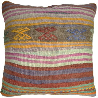 "Rug & Relic 24"" Kilim Pillow"