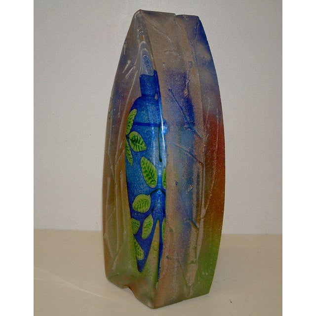 Stephanie Trenchard Blown & Cast Glass Sculpture - Image 3 of 6