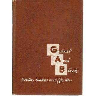 Garnet and Black Book